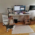 Mein Schreibtisch, geprüft von Mero