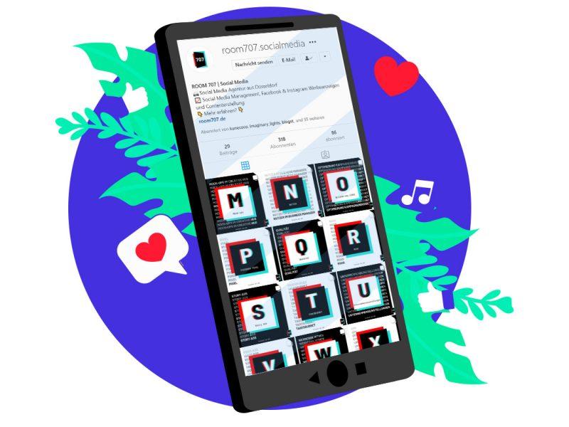 jenni.works – Social Media Accounts als Agentur