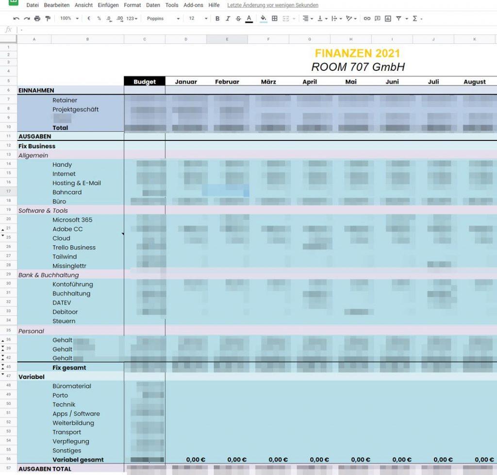 jenni.works – Finanzplanung 2021 – Google Drive