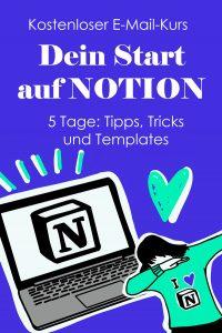 E-Mail-Kurs: Notion Start
