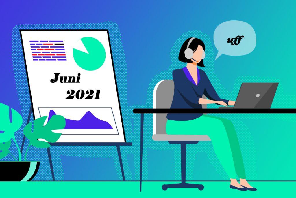 Logbuch Juni 2021